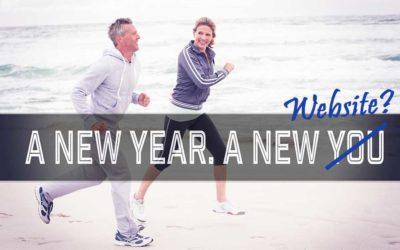 Новый год – новый сайт? Как переделать свой сайт в 2018 году?